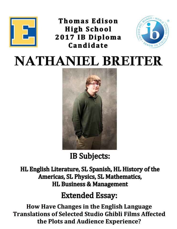 Ib extended essay bilingual diploma
