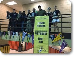 2015-16 Edison Debate Team