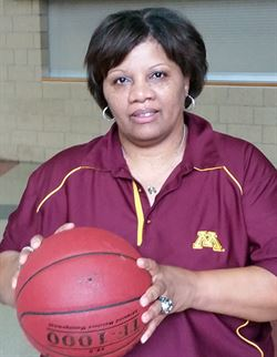 Girls Head Basketball Coach Faith Johnson Patterson (Credit: Eden Prairie News)