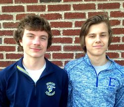 Edison Juniors Brandon Arneson and Logan Couillare have been named to the All City Tennis Team.