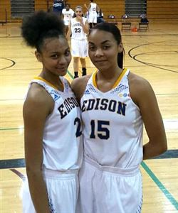 Shanice Vaughn & Sierra Morrow (Left to Right)