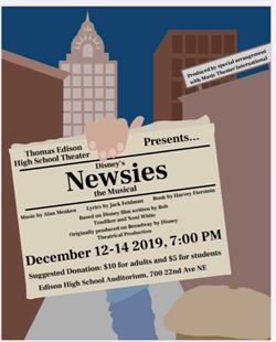 Newsies flyer