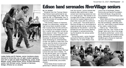 Northeaster Article on Edison Band