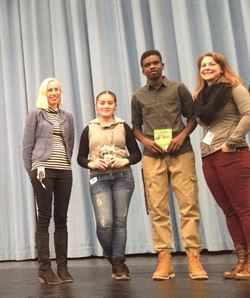 Student Winners of Poetry Out Loud Competition