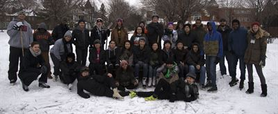 Feb. 5, 2016 Ice Skating Event Group Photo